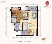 保利金香槟2室2厅2卫0平方米户型图