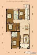 南宁安吉万达广场5室2厅2卫131平方米户型图