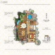 中海・悦墅4室3厅4卫172平方米户型图