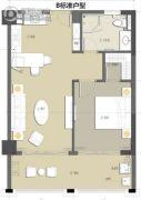 凤凰颐养1室1厅1卫115平方米户型图