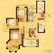 中南世纪花城3室2厅2卫121平方米户型图