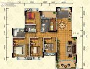东田山畔华庭4室2厅3卫0平方米户型图