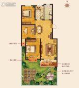 城建・锦绣城3室2厅1卫117--123平方米户型图