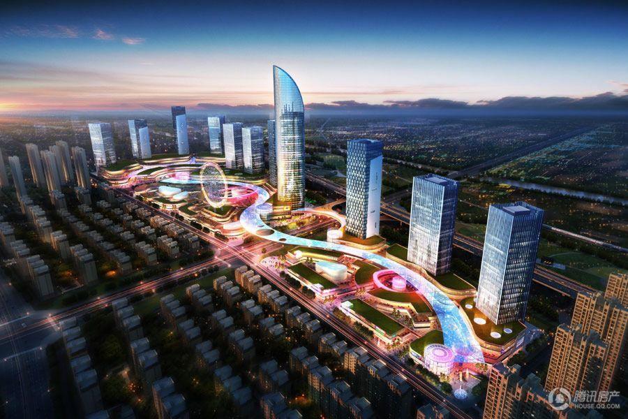 东润城商业效果图