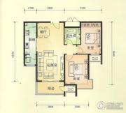 中景盛世长安3室2厅2卫0平方米户型图