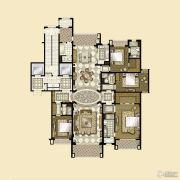 雅居乐・星河湾4室3厅4卫346平方米户型图
