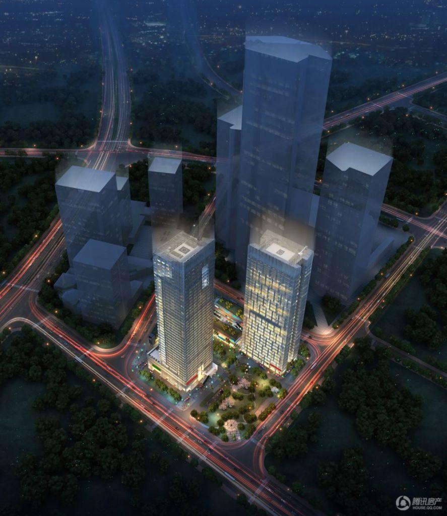 4#富雅国际商务大厦效果图