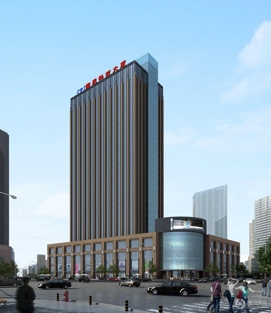 国泰科技大厦效果图