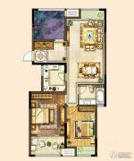港龙新港城2室2厅1卫140平方米户型图