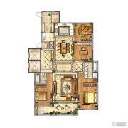 金新鼎邦4室2厅2卫230平方米户型图
