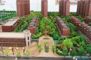 建屋・哈佛公园沙盘图