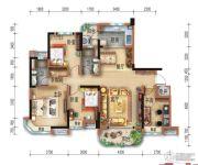宜昌碧桂园4室2厅2卫136--138平方米户型图