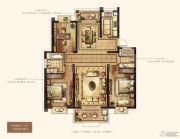 万达华府・大公馆3室2厅2卫154平方米户型图