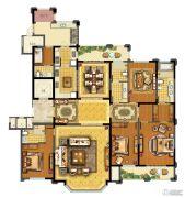 青林湾8期5室2厅4卫280平方米户型图