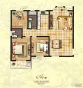 创鑫阳光城3室2厅2卫152平方米户型图