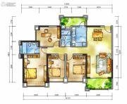 雅居乐十里花巷4室2厅2卫143平方米户型图