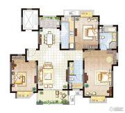 农房・英伦尊邸3室2厅2卫134平方米户型图