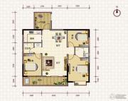 鹏利广场3室2厅2卫123平方米户型图