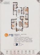 安联・风度柏林3室2厅3卫168平方米户型图