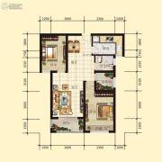 星河上城2室2厅1卫0平方米户型图