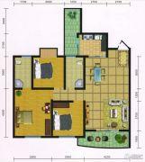 郧阳国际园3室2厅2卫99--109平方米户型图