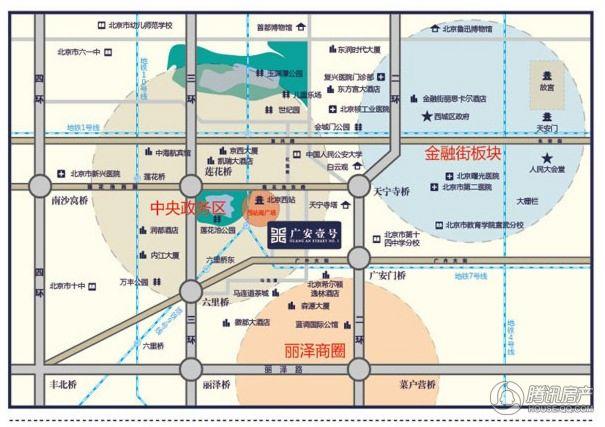 广安壹号交通图