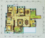 宝安・山水龙城4室2厅2卫165平方米户型图