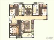 保利海德公馆3室2厅2卫0平方米户型图