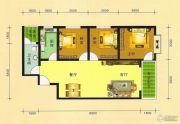 阳光华府3室2厅1卫101平方米户型图