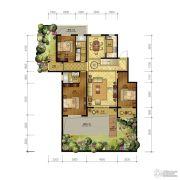 清山公爵城3室2厅2卫162平方米户型图