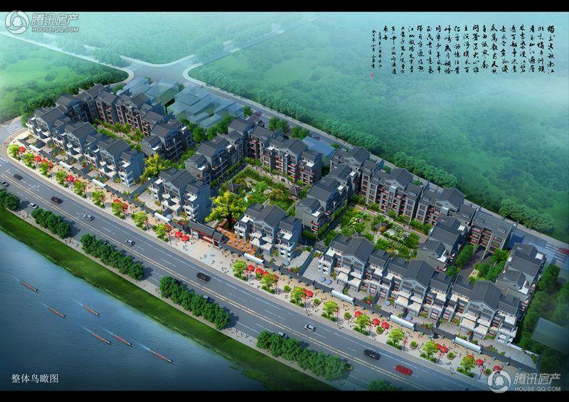 古城·香桂园整体鸟瞰图