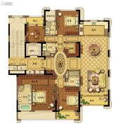 台州中央花园4室2厅4卫255平方米户型图