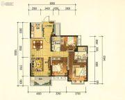 昆明・恒大名都3室2厅2卫118平方米户型图
