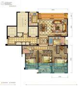 新希望・白麓城3室2厅2卫133平方米户型图