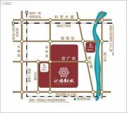 祝福红城交通图