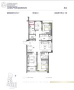 融创・大同府4室2厅2卫125平方米户型图