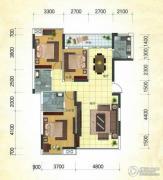 冠亚・国际星城3室2厅2卫125平方米户型图