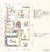 园方欧洲城0室0厅0卫0平方米户型图