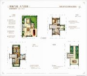 碧桂园・鼎龙湾5室3厅5卫244平方米户型图
