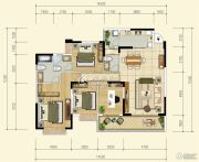 中珠・在水一方4室2厅3卫154平方米户型图