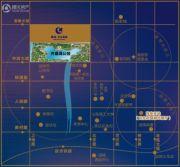 淄博绿城・百合花园交通图