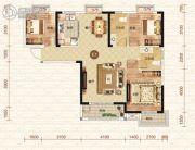 钓鱼台二期3室2厅2卫118平方米户型图