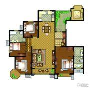万汇金宸国际4室2厅2卫188平方米户型图