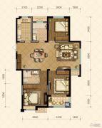 国信・国际公馆3室2厅1卫108--120平方米户型图