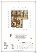 大河时代3室2厅2卫0平方米户型图