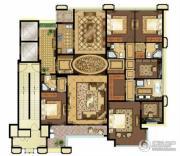 中瓯・金色海岸4室2厅4卫0平方米户型图