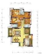 宏创・龙湾半岛3室2厅3卫213平方米户型图