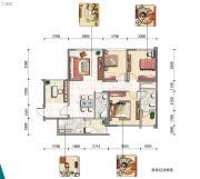 东岸阳光2室0厅0卫121平方米户型图