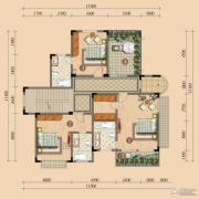 浪琴湾3室0厅3卫127平方米户型图