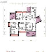润城・双璧湾4室2厅2卫118平方米户型图